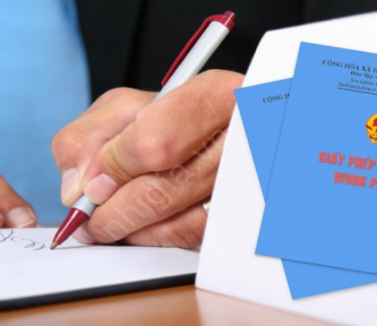 xin giấy phép lao động cho người nước ngoài