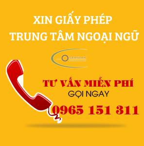 hotline thành lập trung tâm ngoại ngữ